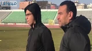 بالفيديو: جانب من تدريبات فريق المصري البورسعيدي