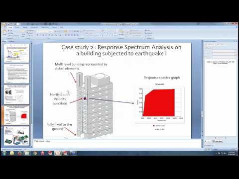 SolidWorks Simulation Earthquake Simulation