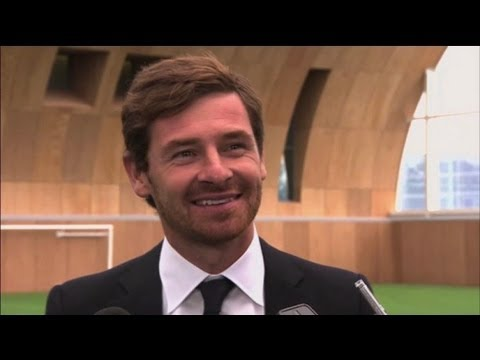 Andre Villas-Boas' first interview as Tottenham manager