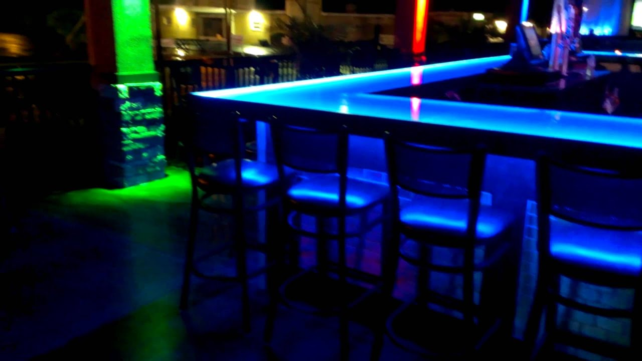 Bar and nightclub LED lighting ideas - YouTube
