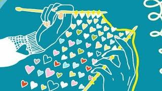 вязание Knit Mom Спицы Gамма Красиво оформить горло. Knitting покупки кардиган мк одежда как сделать