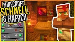 Handeln mit Dorfbewohnern! (Tutorial) ✨ Minecraft Schnell und Einfach #07 ✨ ErikOnHisPeriod