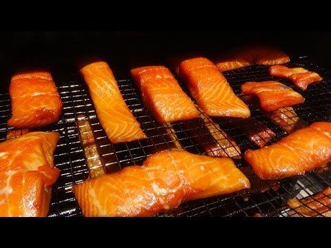 Smoked Apricot Dijon Glazed Salmon