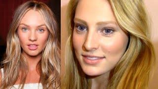 Candice Swanepoel Natural Makeup & Hair Tutorial Thumbnail