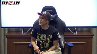 RIZIN.13 山本美憂選手 試合前マスコミインタビュー 山本美憂 検索動画 15