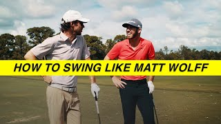 INSIDE LOOK at the most unique swing on tour