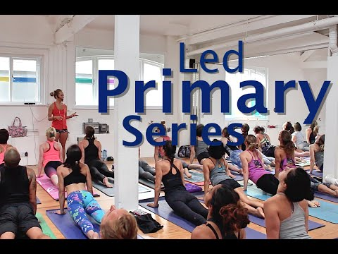 Ashtanga Yoga Led Half Primary Series with Kino Yoga - London 2016