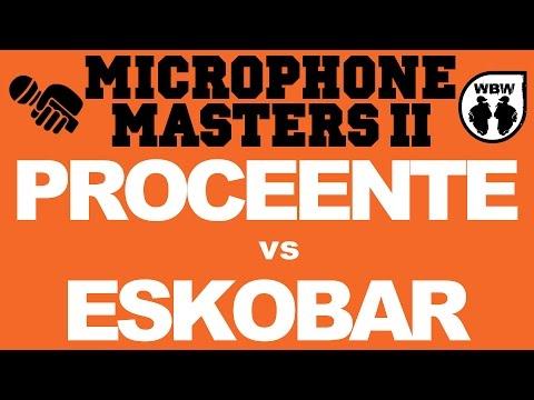 bitwa PROCEENTE vs ESKOBAR # Microphone Masters II Bis # freestyle battle