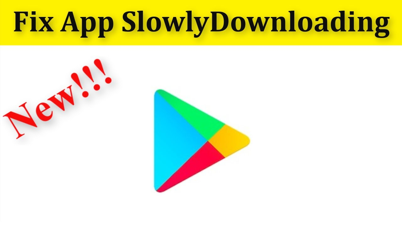 Download How To Fix Google Play store Apps Slowly Downloding Problem Android Mobile
