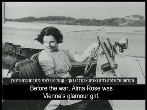 Alma Rose – a tribute - with the Raanana Symphonette Orchestra – Channel 2 news