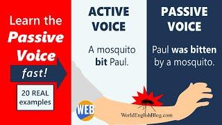 The Passive voice - English grammar