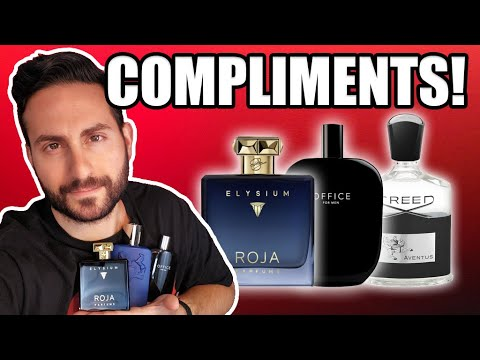 TOP 10 MOST COMPLIMENTED FRAGRANCES FOR 2020! | Creed Aventus, Office For Men, Etc.