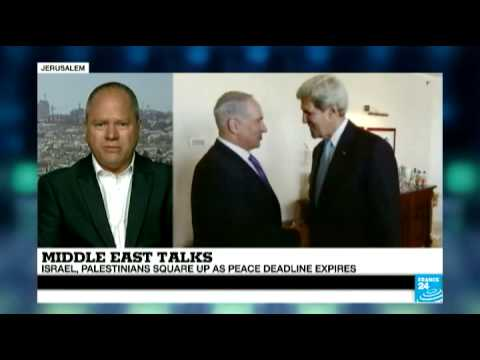 Middle East Talks: Israel and Palestinians square up as peace deadline expires