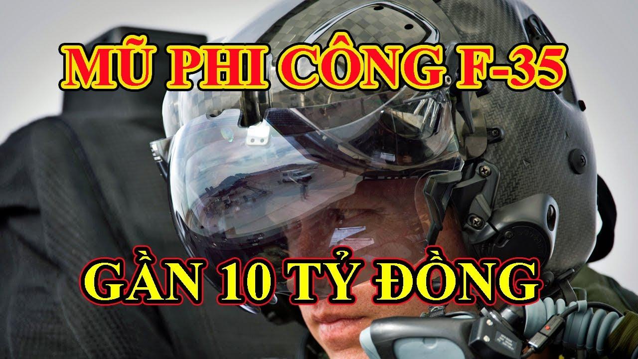 Mũ bảo hiểm F-35 tiên tiến ở đâu? Tại sao chi phí rất cao?