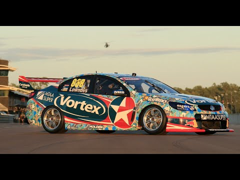 Craig Lowndes Darwin livery unveil