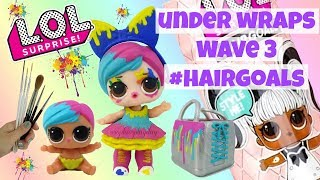 LOL Surprise Under Wraps Wave 3 Hairgoals Splatters Family Splatters Custom Doll LOL Surprise DIY