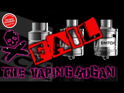 Switch RDA/RTA | Paradigm | Jack Of All Trades ~ Master Of None | The Vaping Bogan
