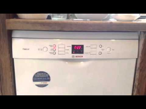 bosch excell dishwasher another fault e22 youtube. Black Bedroom Furniture Sets. Home Design Ideas