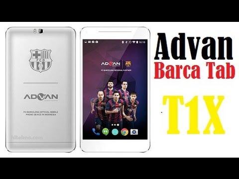 Advan Barca Tab T1X Harga Spesifikasi Review Unboxing 2014