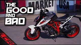 The GOOD & BAD with the KTM Super Duke 1290R