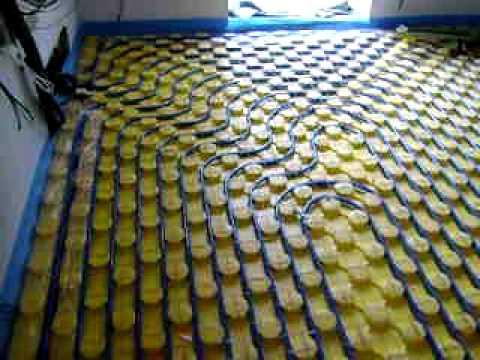 Video riscaldamento a pavimento rdz youtube - Posa piastrelle su pavimento radiante ...