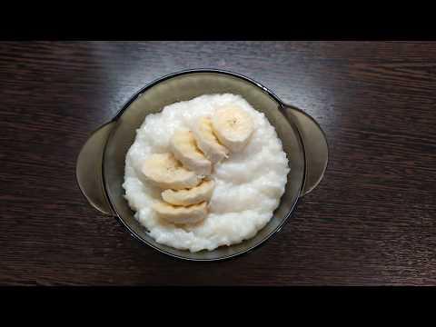 Молочная каша в мультиварке. Рисовая каша на завтрак.