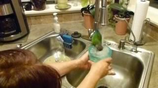 Macy Takes A Bath