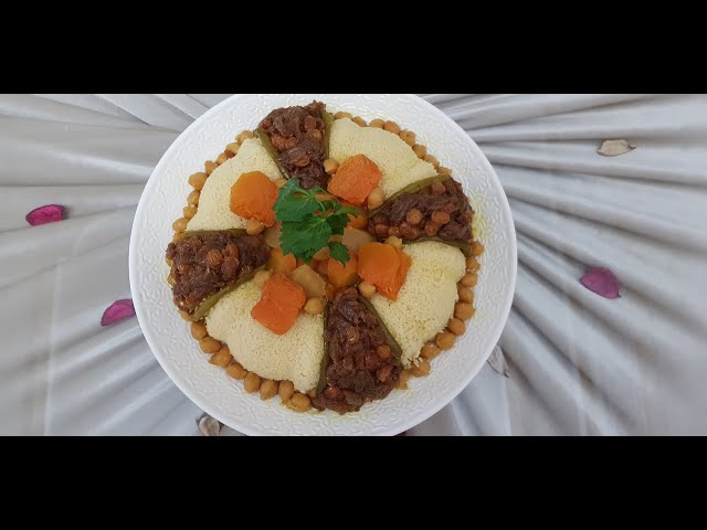 ?????? ??????? ???????? ? ????? ??? ???????  Moroccan Couscous with Vegetables and Caramelized onions