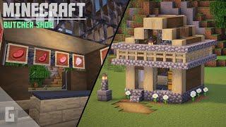 Minecraft Butcher Shop BUILD Tutorial YouTube