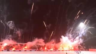 Hammarby Bandy-Sandviken TIFO 9/3 2018