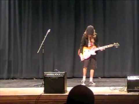 "Young ""Angus Young"" - Jake Plays You Shook Me All Night Long"