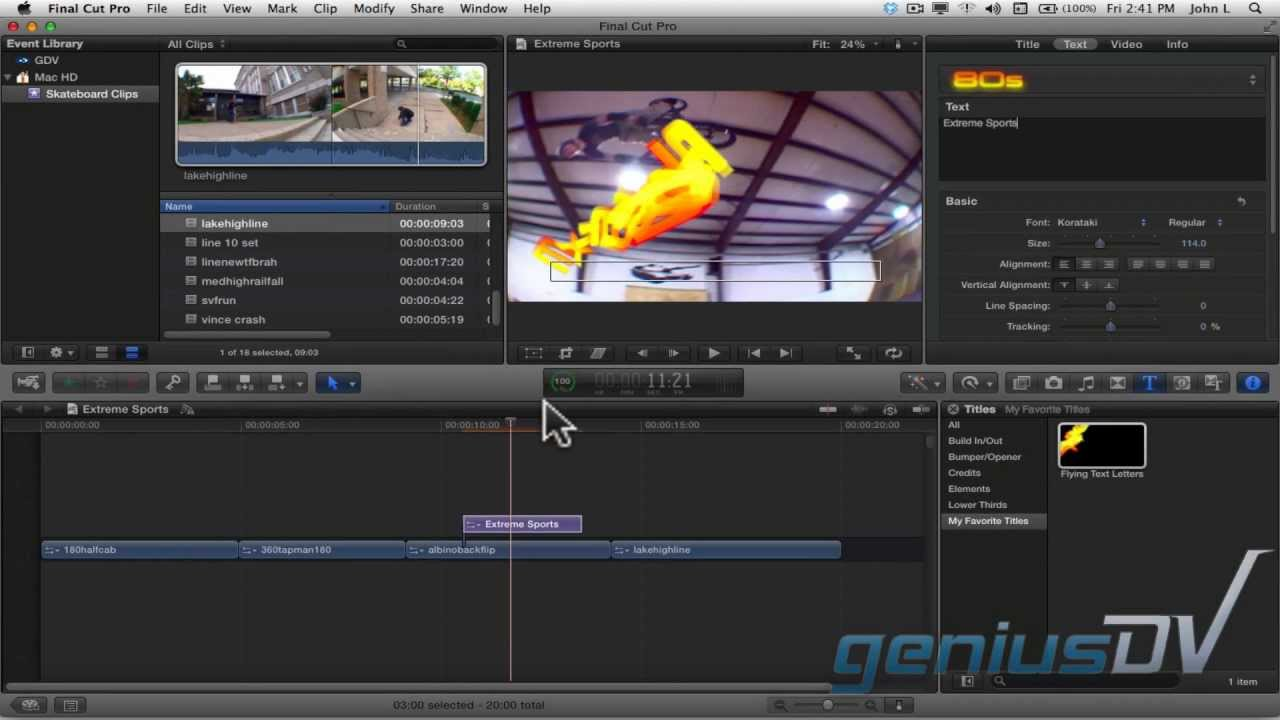 Creating custom title templates in motion 5 youtube for Motion 5 title templates