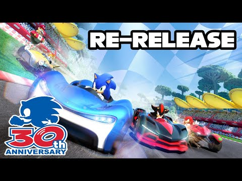 Team Sonic Racing is being re-released! |