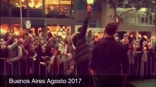 David Bisbal visita Buenos Aires Agosto 2017