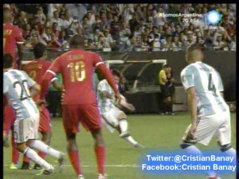 Argentina 5 Panama 0 (Relato Mariano Closs)  Copa America Centenario 2016