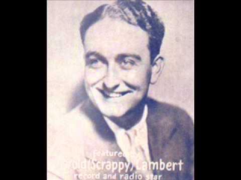 Dorsey Brothers Scrappy Lambert - Beside An Open Fireplace 1930