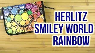 Розпакування Herlitz Smiley World Rainbow 19 предметів 1 відділення Чорний 11437902