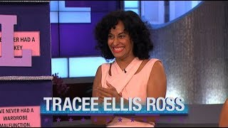 Monday on 'The Real: Guest Co-Host Kelly Osbourne, Tracee Ellis Ross