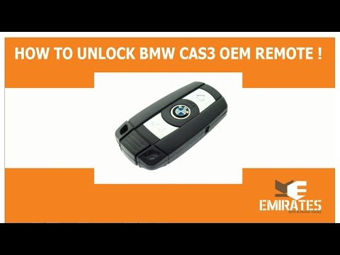 How to Unlock BMW Cas3 OEM Remotes via MK3