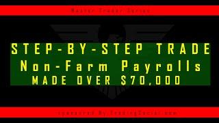 Trading NonFarm Payrolls | Unemployment Rate | Forex | Nadex | Binary Options | $70,000 Profits!