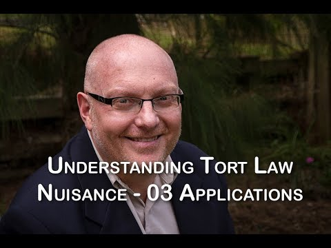 Nuisance 03   Applications