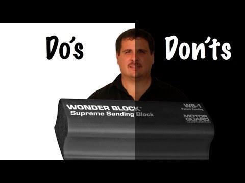 c18dac098979 Block Sanding Primer Do's and Don'ts - YouTube