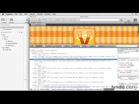 jQuery Mobile Web App Tutorial #19 Reading and preparing a JSON feed