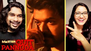 MASTER - QUIT Pannuda Lyric [REACTION] | Thalapathy Vijay | Anirudh Ravichander | SWAB REACTIONS