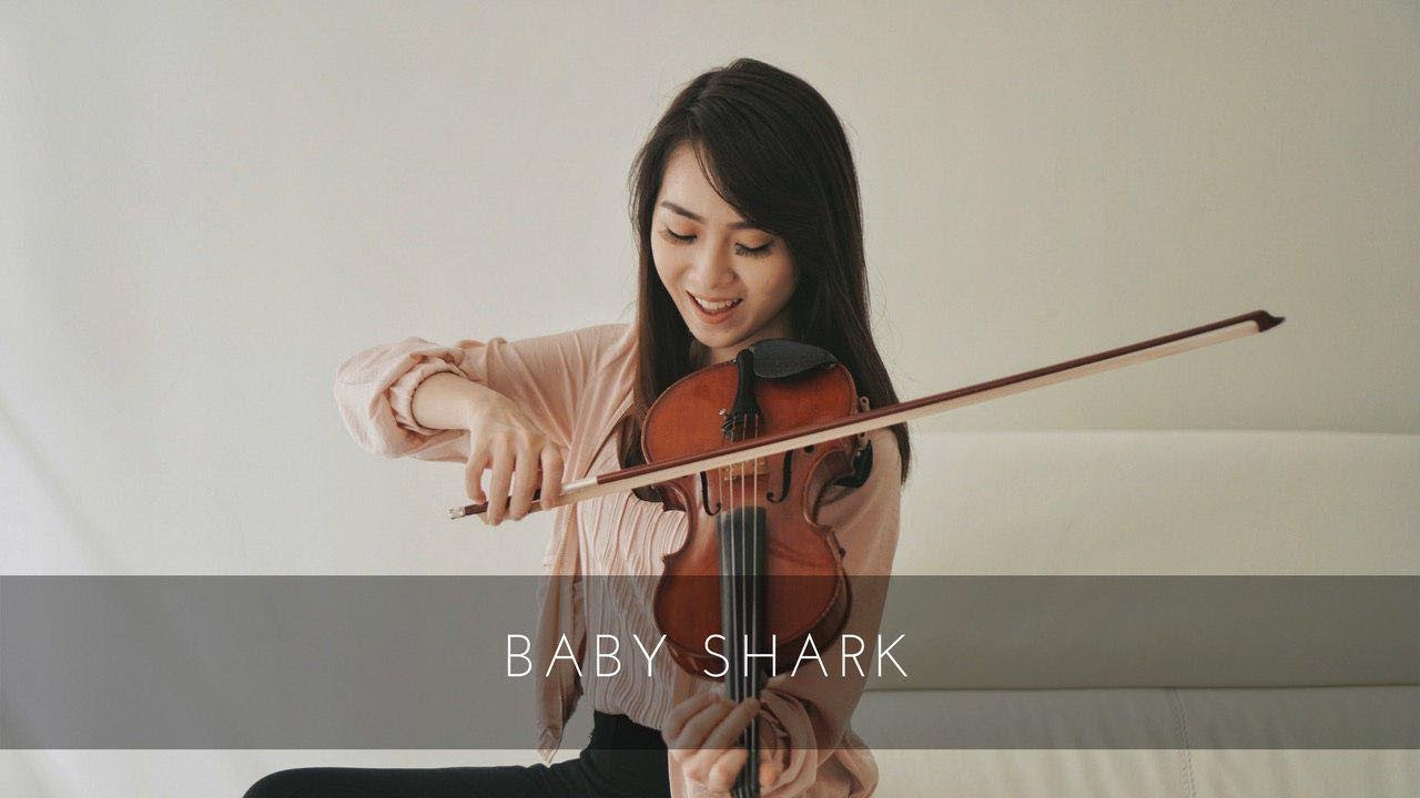Baby Shark Violin Version by Kezia Amelia