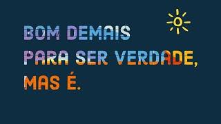 BOM DEMAIS PARA SER VERDADE, MAS É. 31.01.21 Noite | Rev Jr Vargas