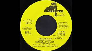 BARBARA ST CLAIR ‎– TEACHERMAN (CEB 1)