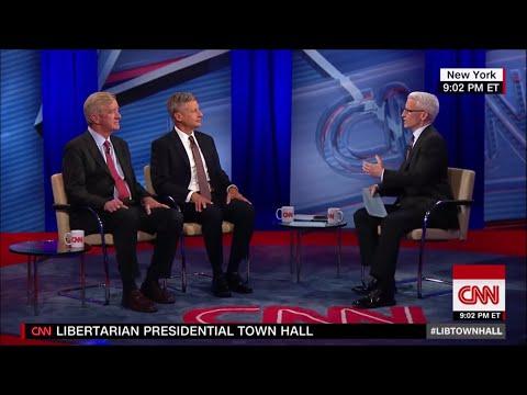 Second Libertarian Town Hall - August 3 2016 on CNN