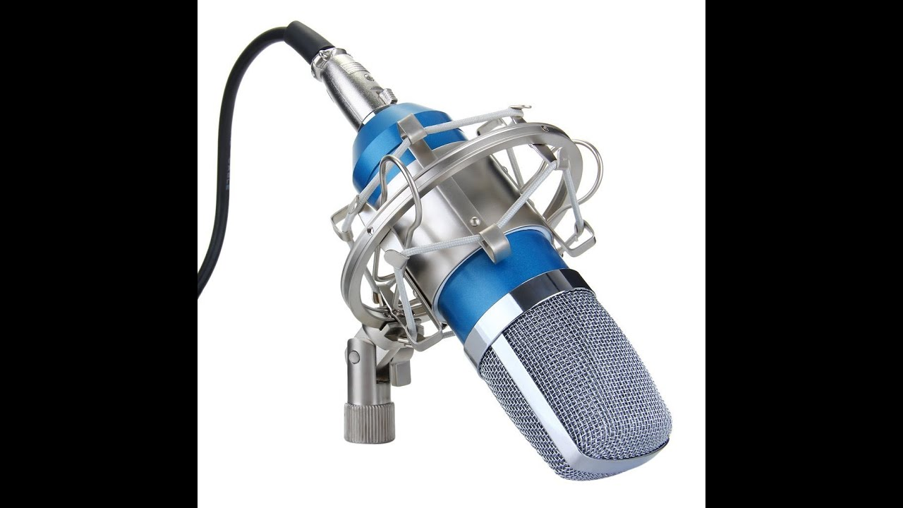 excelvan condenser mic review sound recording microphone