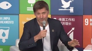 Interview with Nikolaj Coster-Waldau, SDG Media Zone (18-22 September 2017)